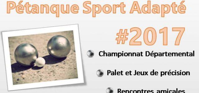 Le C.D.S.A. 35 en partenariat avec l'ASCAR organise une rencontre Pétanque Sport Adapté (Loisirs et compétition), le mercredi 25/10/2017 à Saint Gilles. Après-midi 13h30-16h : rencontres amicales de Pétanque, Palets […]