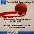 La section Sport Adapté de l'Union Sportive de Noyal Chatillon en partenariat avec le ComitéDépartemental Sport Adapté d'Ille et Vilaine organise le championnat Inter-Départemental de Basket-Ball Sport Adapté. Cette compétition […]