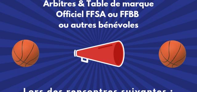 Le C.D.S.A 35 lance un appel à officiels FFSA ou FFBB ou des bénévoles sachant siffler ou faire la table de marque. N'hésitez pas à vous faire connaître, les […]