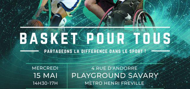 L'union Rennes Basket vous invite à participer à l'événement«Basket pour tous» le mercredi 15 mai 2019 au Playground Savary, au Blosne. Ouvert à tous etgratuit, cela se déroulera de14h30 à […]
