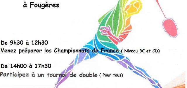 Cette journée est organisée par le BCPF en partenariat avec le Comité Départemental Sport Adapté d'Ille et Vilaine. Elle est destinée aux licencié(e)s des clubs d'Ille et Vilaine, souhaitant […]