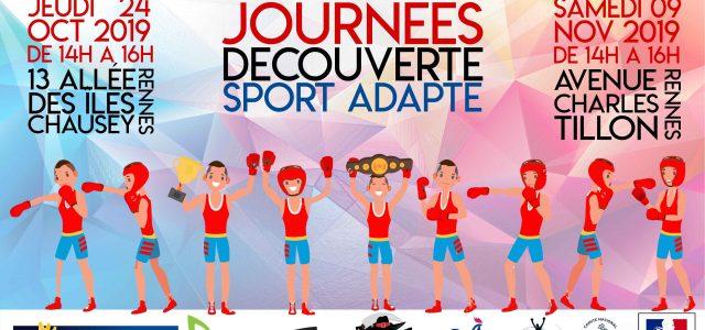 Ces journées sont organisées par l'association Ankou Boxing Club en partenariat avec le Comité Départemental Sport Adapté d'Ille et Vilaine. Deux journées découvertes ont lieu : Le 24 Octobre […]