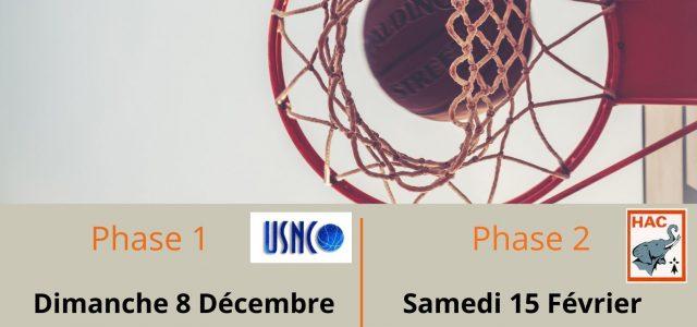 La phase 2 du championnat Inter-Départemental BasketBall Sport Adapté aura lieu le : SAMEDI 15 FÉVRIER 2020  Dossier d'inscription et informations à venir