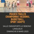 La section Sport Adapté du Langueux Basket Club et la Ligue de Bretagne du Sport Adapté organisent les Finales du Championnat de Bretagne de Basket Ball Sport Adapté qui […]