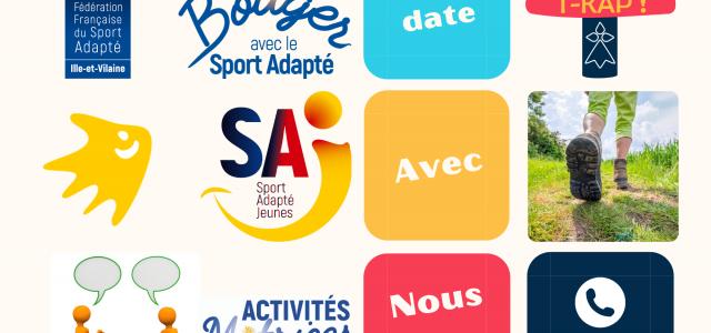 Le contexte sanitaire ne permettant pas la reprise d'un calendrier de rencontre, le CDSA 35 propose de réserver des dates pour organiser des actions Sport Adapté, en interne des structures. […]